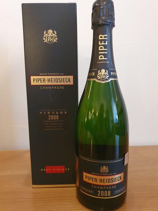 2008 Champagne Piper-Heidsieck, Brut Vintage, Champagne, France