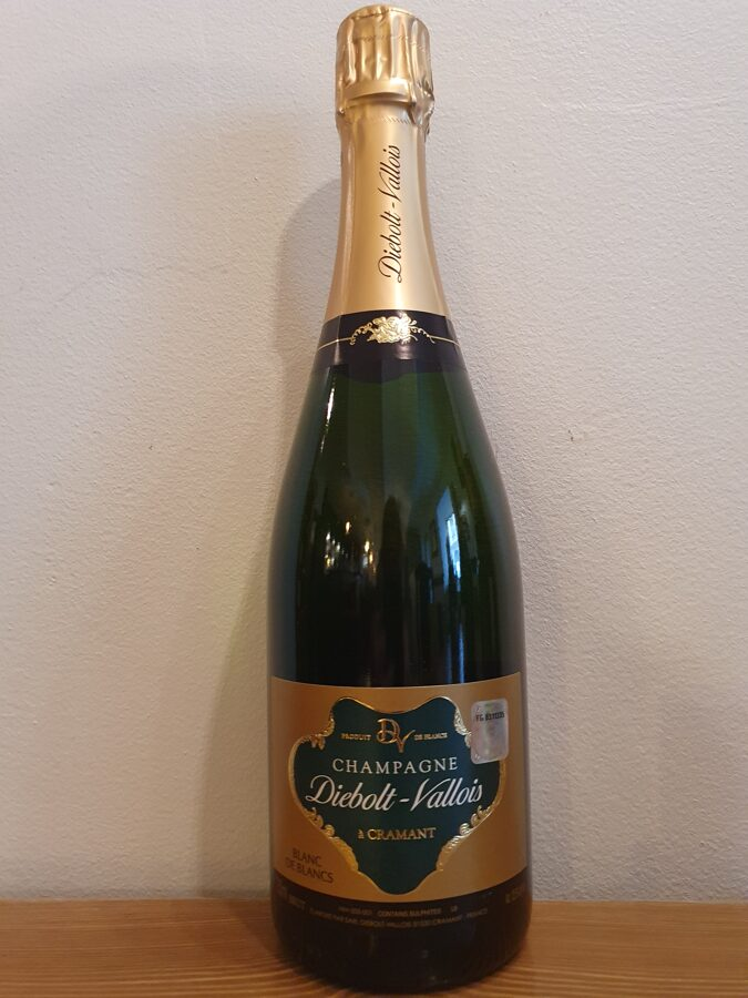 NV Champagne Diebolt-Vallois, Blanc de Blancs, Brut, Champagne, France
