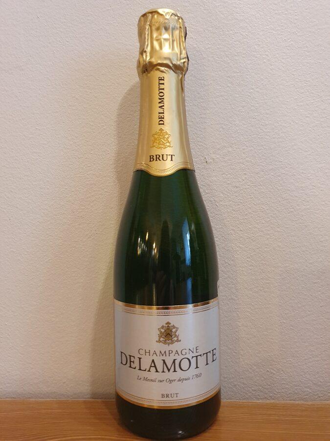 NV Champagne Delamotte, Brut, Champagne, France 0.375L