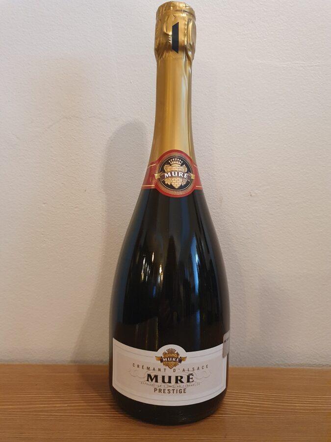 NV Muré, Cuvée Prestige, Brut, Crémant d'Alsace, Alsace, France