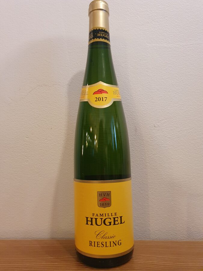 2017 Famille Hugel, Riesling Classic, Alsace, France