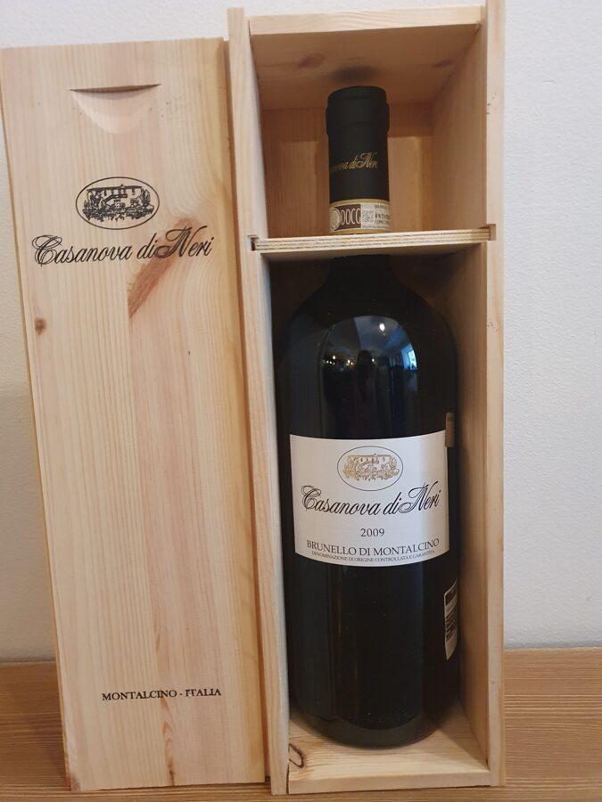 - 30% 2009 Casanova di Neri, Brunello di Montalcino, Toscana, Italy, Magnum 1.5L