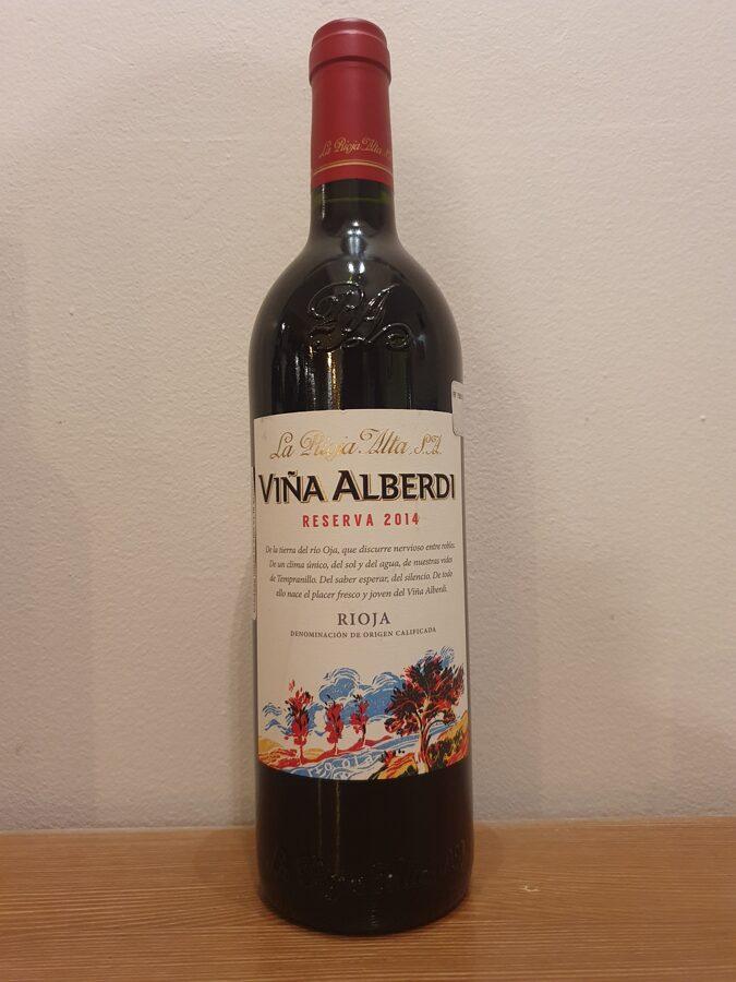 2014 Viña Alberdi, Reserva, Rioja, Spain