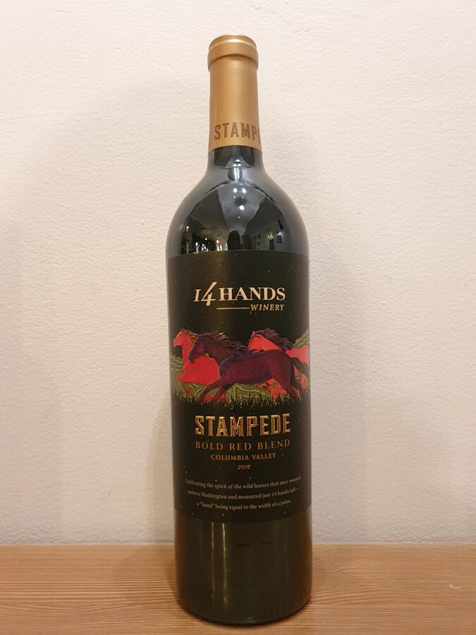 2016 14Hands, Stampede, Bold Red Blend, Columbia Valley, Washington, USA
