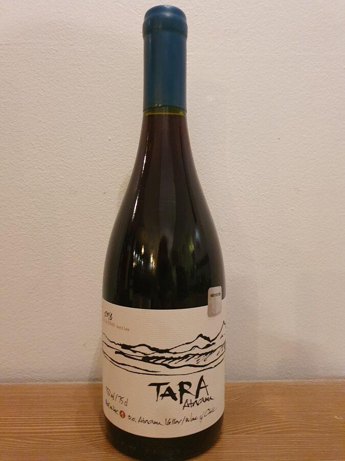 2016 Tara, Red Wine 1, Pinot Noir, Atakama, Chile