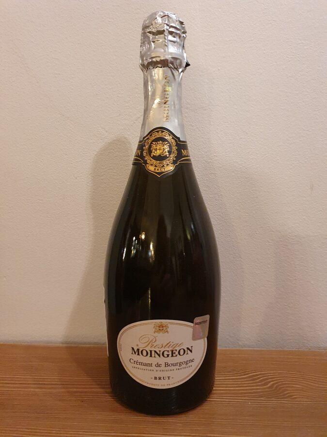 NV Moingeon, Prestige, Crémant de Bourgogne,  Brut, France