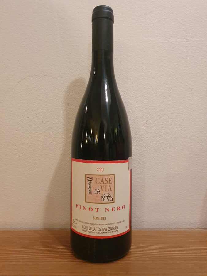 2001 Fontodi, Case Via, Pinot Nero, Toscana, Italy