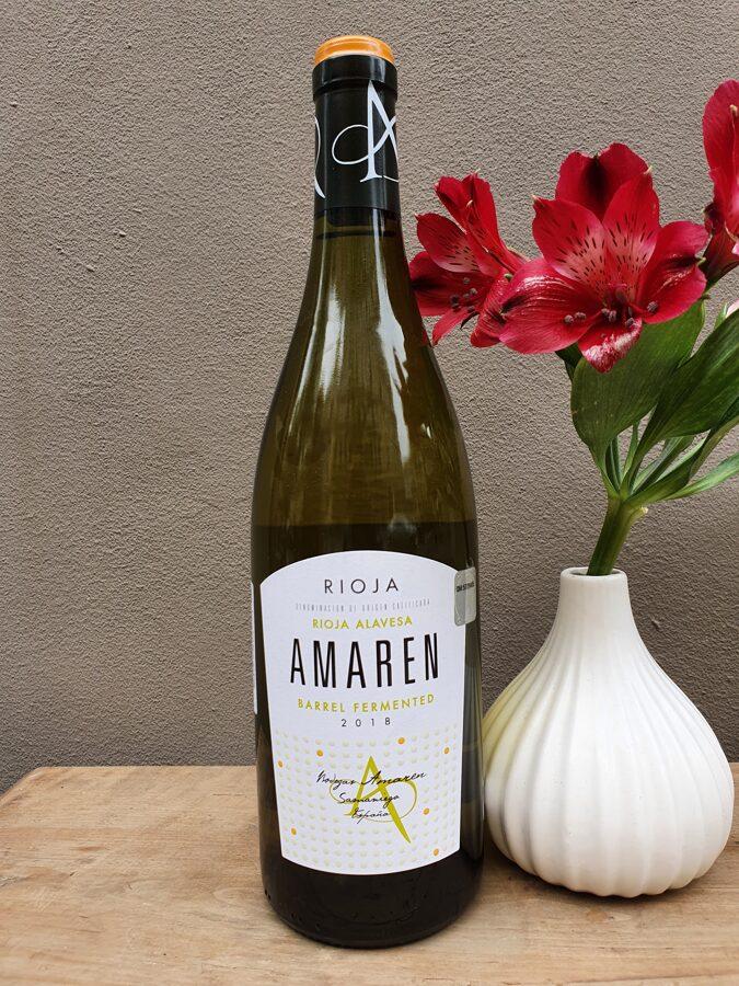2018 Amaren, Rioja Alavesa, Barrel Fermented, Rioja, Spain