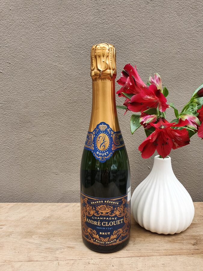 NV Champagne André Clouet, Grande Réserve, Bouzy, Brut 0.375L