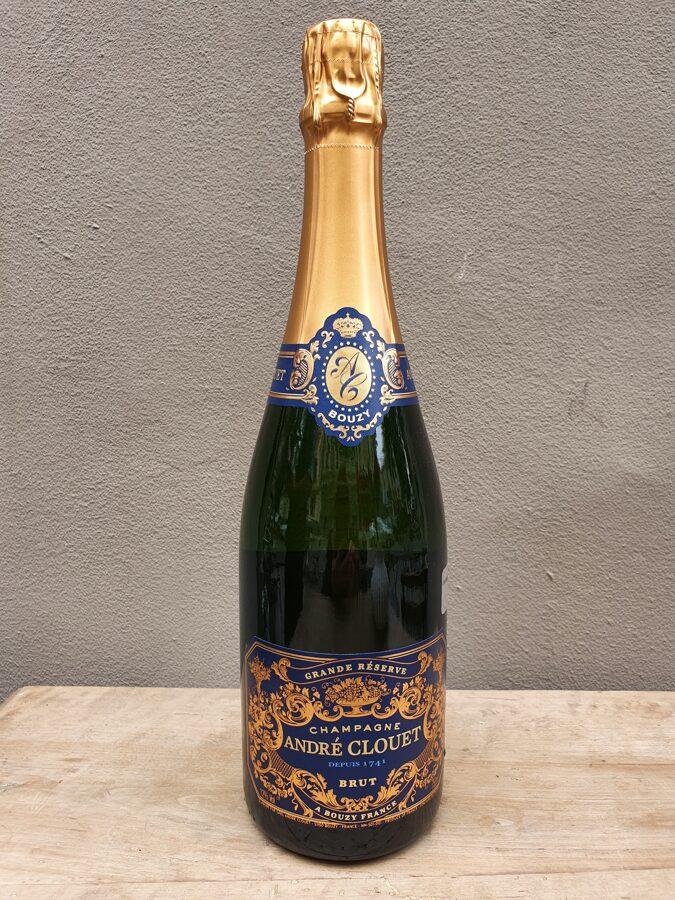 NV Champagne André Clouet, Grande Réserve, Bouzy, Brut