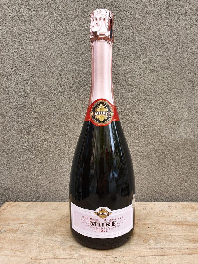 NV Muré, Rosé, Brut, Crémant d'Alsace, France