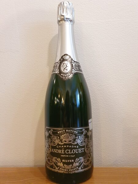 NV Champagne Andre Clouet, Silver, Bouzy, Brut Nature, Champagne, France