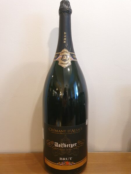 -30 % NV Wolfberger, Crémant d'Alsace, Brut, Alsace, France, Methuselah 6.0L