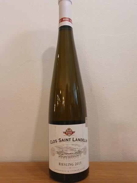 - 30% 2015 Mure, Clos Saint Landelin, Riesling, Vorbourg Grand Cru, Biologique, Alsace, France