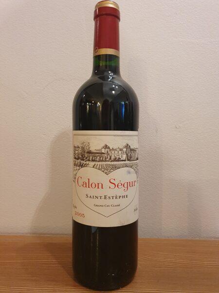 -50% 2005 Calon Ségur, Saint Estèphe, Bordeaux, France